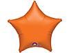 Воздушный шар Шар 19'' (48см)  звезда металлик orange