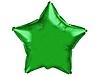 Воздушный шар Шар 18'' (45см)  звезда металлик green