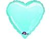 Воздушный шар Шар 18'' (45см)  сердце пастель blue