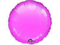 Шар 18'' (45см)  круг металлик lavender