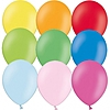Воздушный шар Шар 12'' (30см)  пастель с воздухом в асс