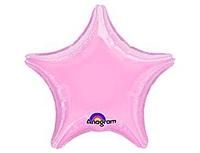 Шар 19'' (48см)  звезда пастель pink