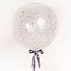Воздушный шар Шар 36'' (91см)  кристалл  конфетти