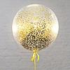 Воздушный шар Шар 26'' (66см)  кристалл  см конфетти