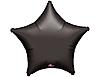 Воздушный шар Шар 19'' (48см)  звезда пастель black
