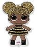 Воздушный шар Шар 34'' (86см)  фигура gold  кукла лол lol сияющая королева