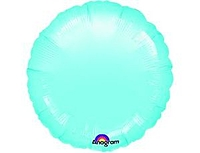 Шар 18'' (45см)  круг пастель blue