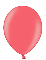 Шар 14'' (36см)  металлик cherry red