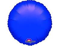 Шар 18'' (45см)  круг металлик purple