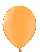 Шар 14'' (36см)  кристалл orange