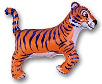 Шар 37'' (93см)  фигура     тигр синий