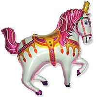 Шар 39'' (99см)  фигура     лошадь ярмарочная фуше