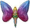 Воздушный шар Шар 32'' (81см)  фигура     леди бабочка