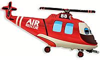Шар 39'' (99см)  фигура     вертолетспасатель