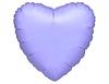 Воздушный шар Шар 18'' (45см)  сердце пастель lilac