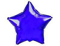 Шар 18'' (45см)  звезда металлик б рис   металлик violet fm