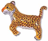 Шар 37'' (93см)  фигура     леопард черный