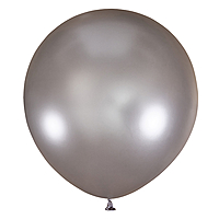 Шар 36'' (91см)  металлик  см  silver