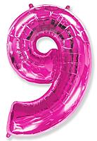 Шар 40'' (106см)  цифра      фуше
