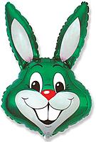 Шар 40'' (106см)  фигура     заяц зеленый