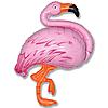 Воздушный шар Шар 32'' (81см)  фигура     фламинго розовый