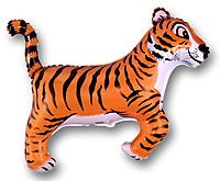 Шар 37'' (93см)  фигура     тигр черный