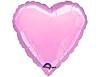 Воздушный шар Шар 18'' (45см)  сердце пастель pink
