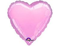 Шар 18'' (45см)  сердце пастель pink