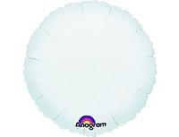 Шар 18'' (45см)  круг пастель white