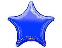 Шар 19'' (48см)  звезда металлик purple