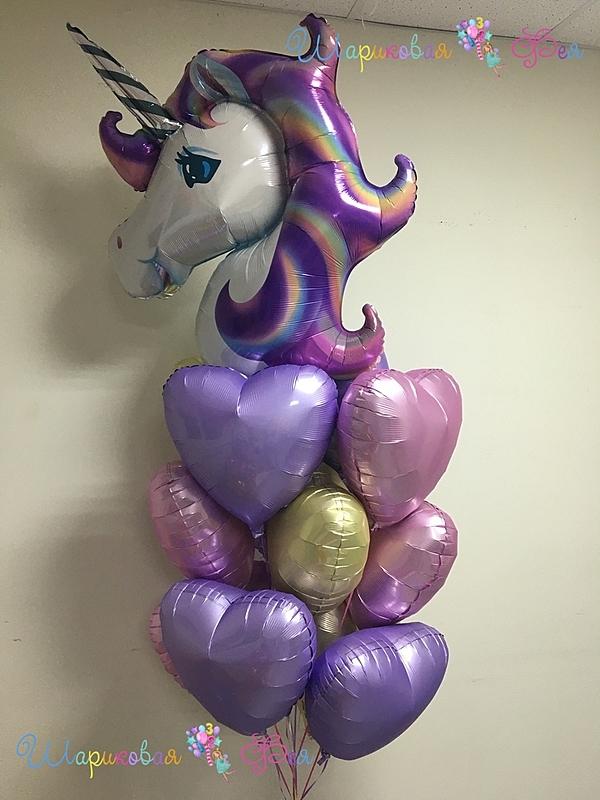 Оформление из воздушных шаров