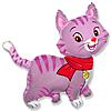 Воздушный шар Шар 32'' (81см)  фигура     любимый котенок фуше