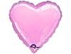 Воздушный шар Шар 18'' (45см)  сердце металлик pink