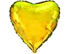 Воздушный шар Шар 18'' (45см)  сердце металлик gold