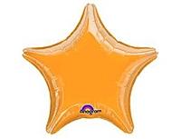 Шар 19'' (48см)  звезда металлик gold