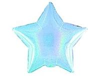 Шар 19'' (48см)  звезда blue