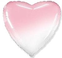 Шар 18'' (45см)  Сердце пастель градиент