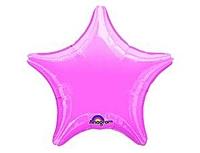 Шар 19'' (48см)  звезда металлик lavender