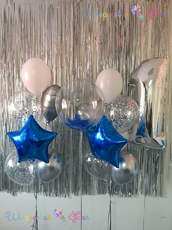Композиция из воздушных шаров