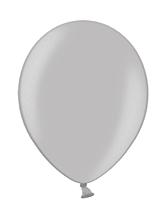 Шар 14'' (36см)  металлик silver