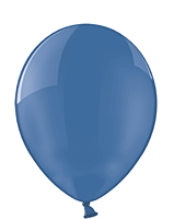 Шар 14'' (36см)  кристалл blue